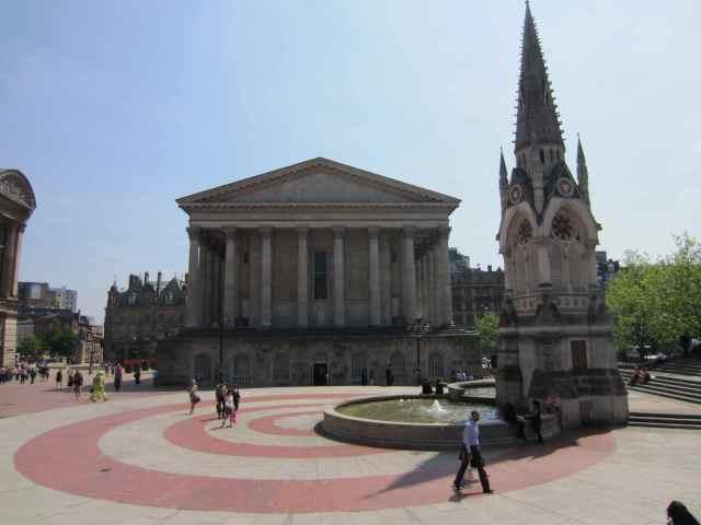 Centre of Birmingham