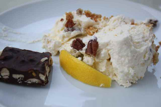cheesecake and chocolate