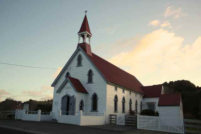 church at puhoi