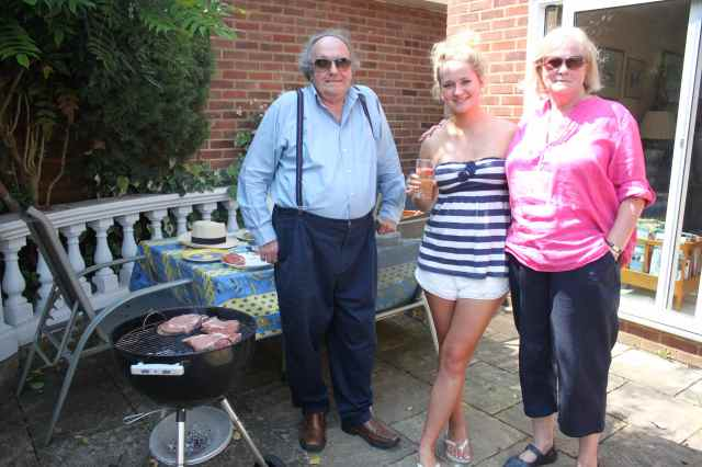 Dad and BBQ