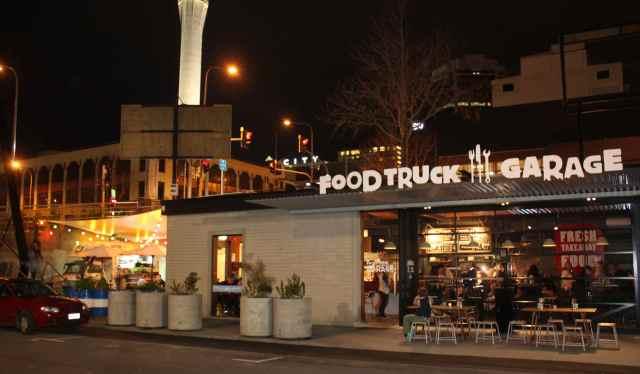 Food Truck Garage
