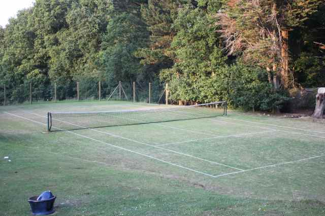 grass court