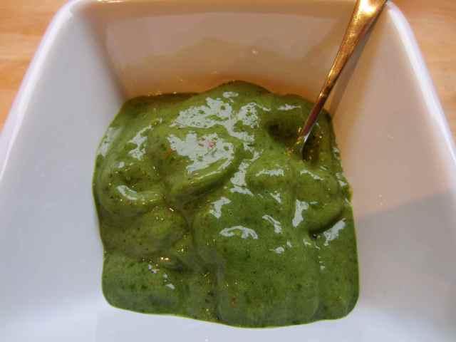 green ice-cream