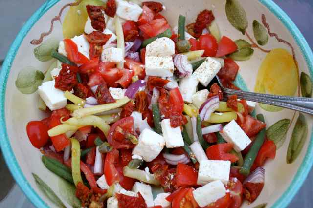 kind of Greek salad