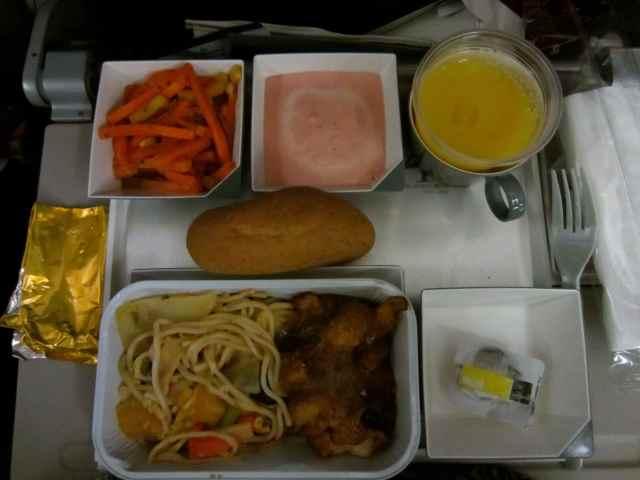 Malaysia Air breakfast 27-7-13