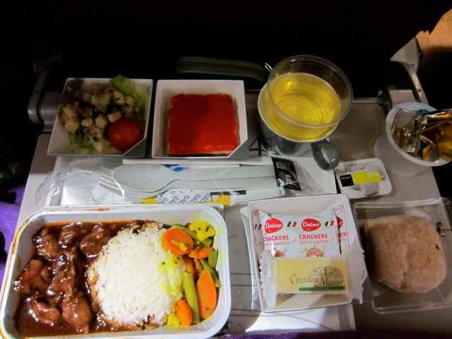 Malaysia Air dinner 26-7-13