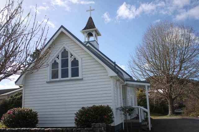Matakana church