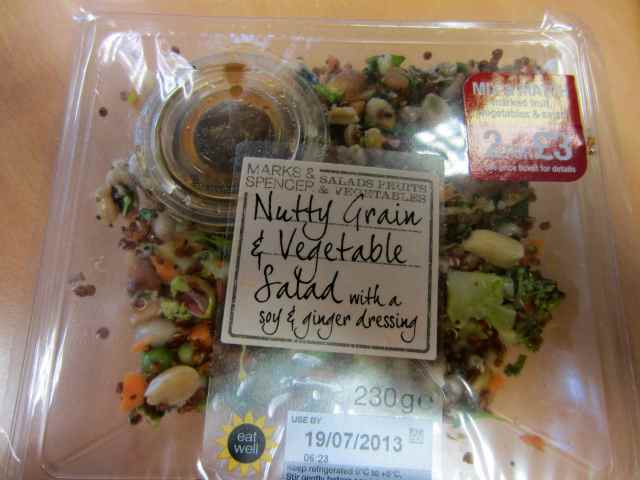 M&S nutty grain salad