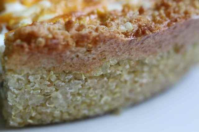 quinoa crust