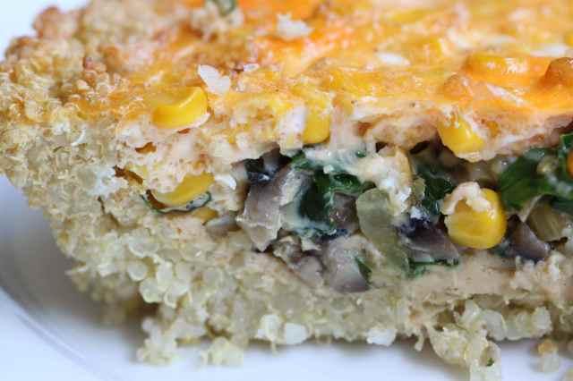 quinoa frittata