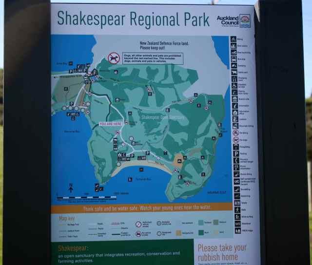 Shakespear RP sign