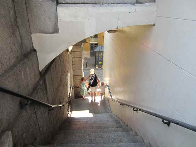 Stairs at London Bridge
