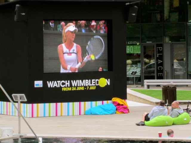 Wimbledon screen