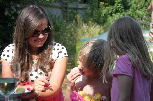 Wlydia, Max and Katie