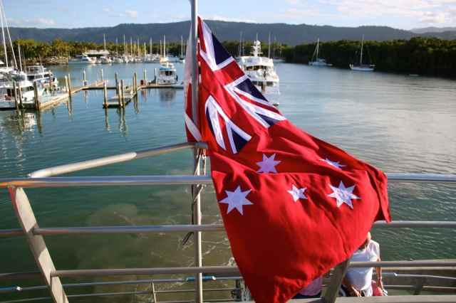 Aussie Maritime flag