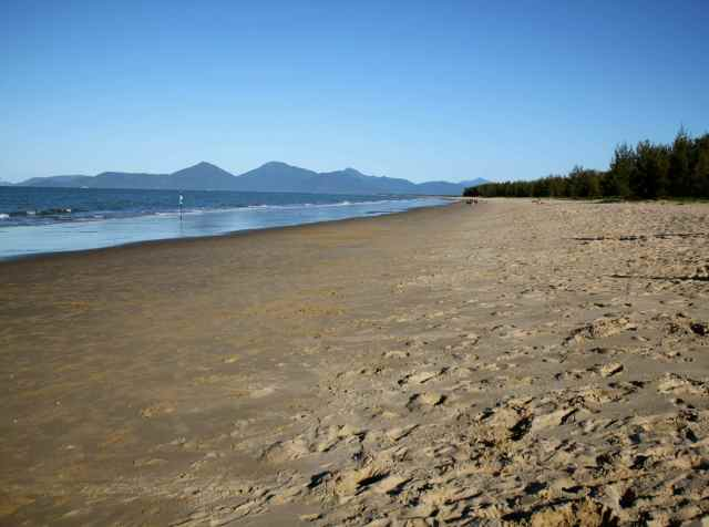 Beach at 4-30pm