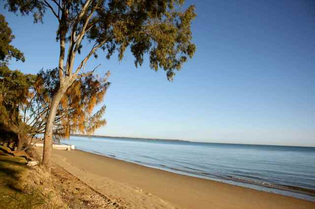 calm at Hervey Bay