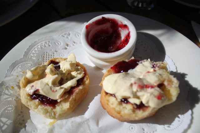 Cream Tea with Rainforest Jam