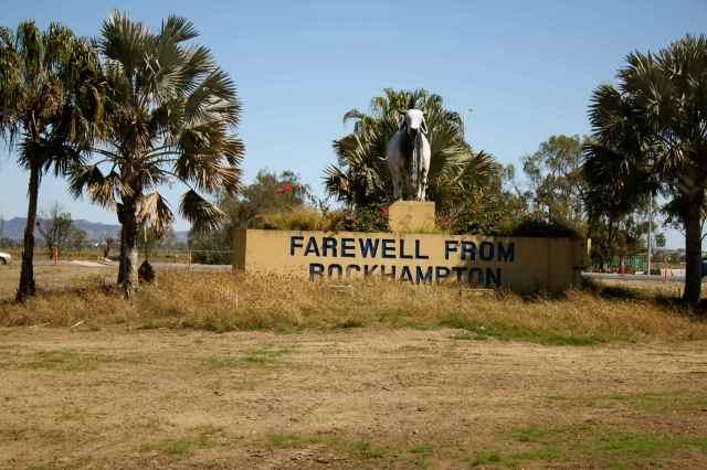Farewell Rockhampton