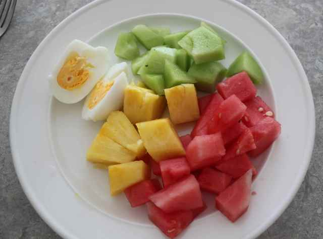 fruit and egg