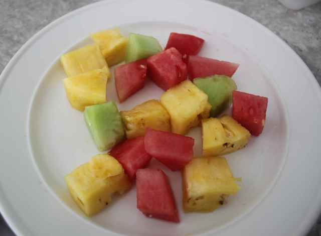 Fruit breakfast 6-8-13