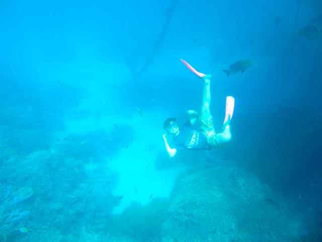 H snorkelling 2