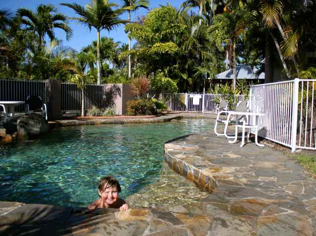 Harvey and Cairns pool