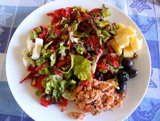 Keven salad