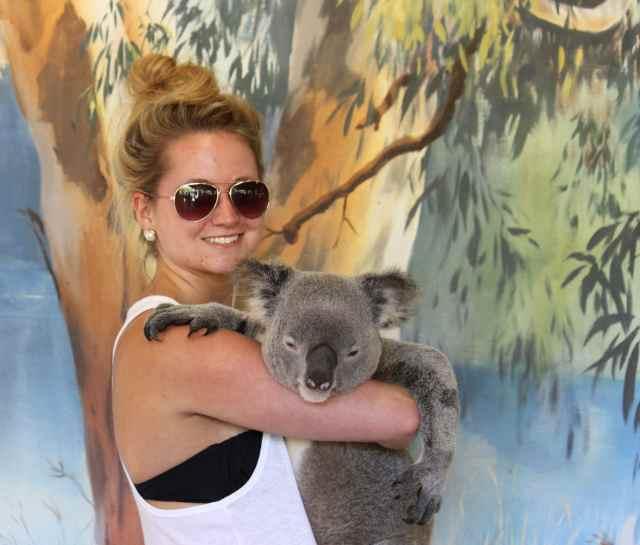 Lara and Koala