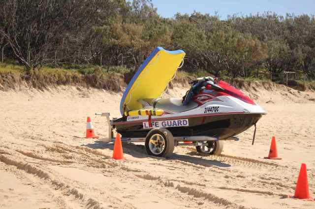 Lifeguard jetski