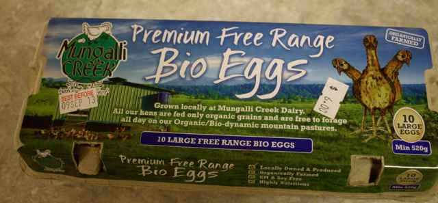 Mungalli Creek eggs