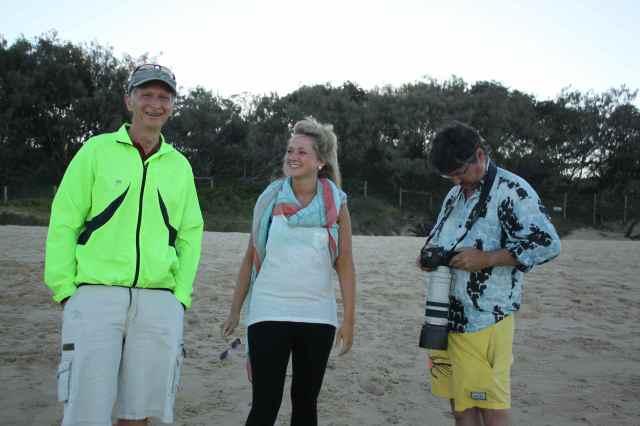 on Dicky Beach
