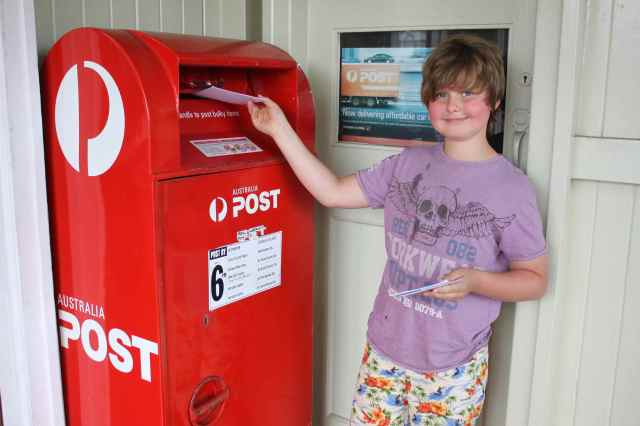 posting cards