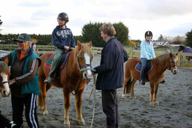 Riding lesson 3