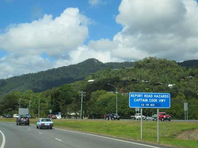 road hazard sign