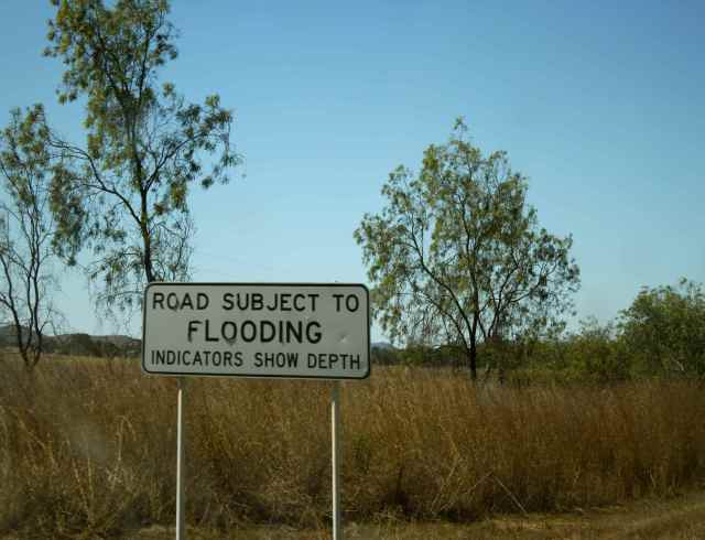 road subject to flooding