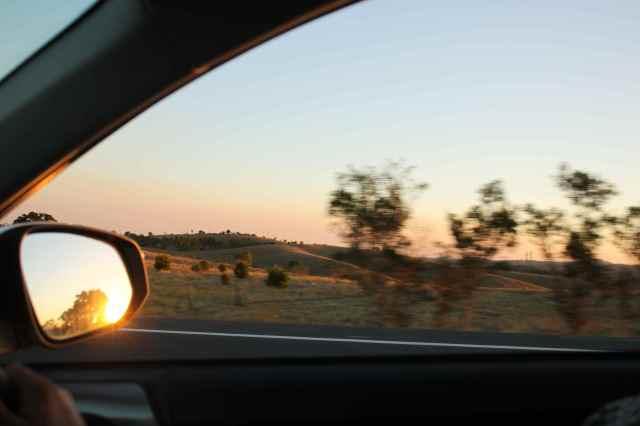 Sunset near Childers