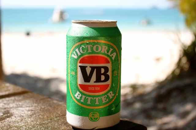 VB on the beach