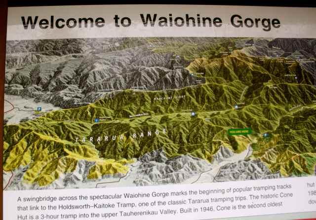Waiohine Gorge Board