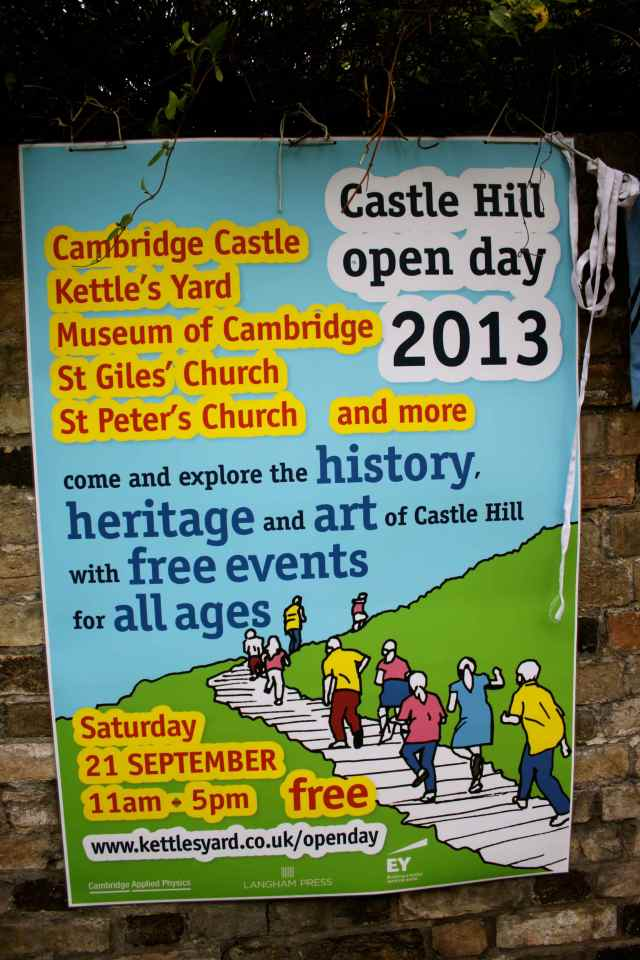 Castle Hill Open Day poster