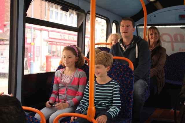 family bus trip