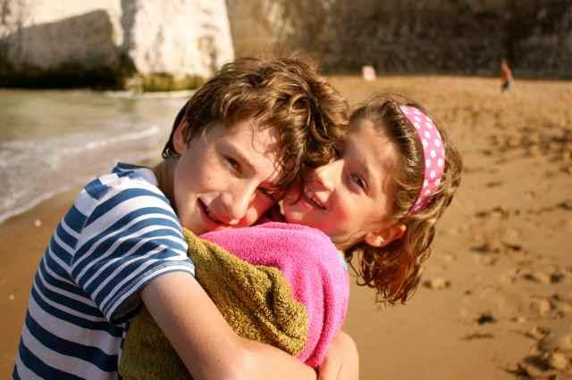 Harry and Olivia at Botany Bay