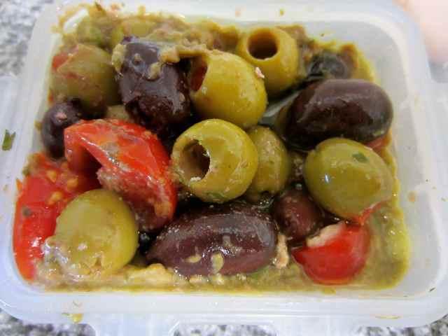 olives etc