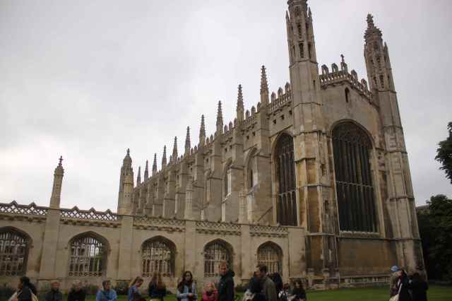 Outside King's College
