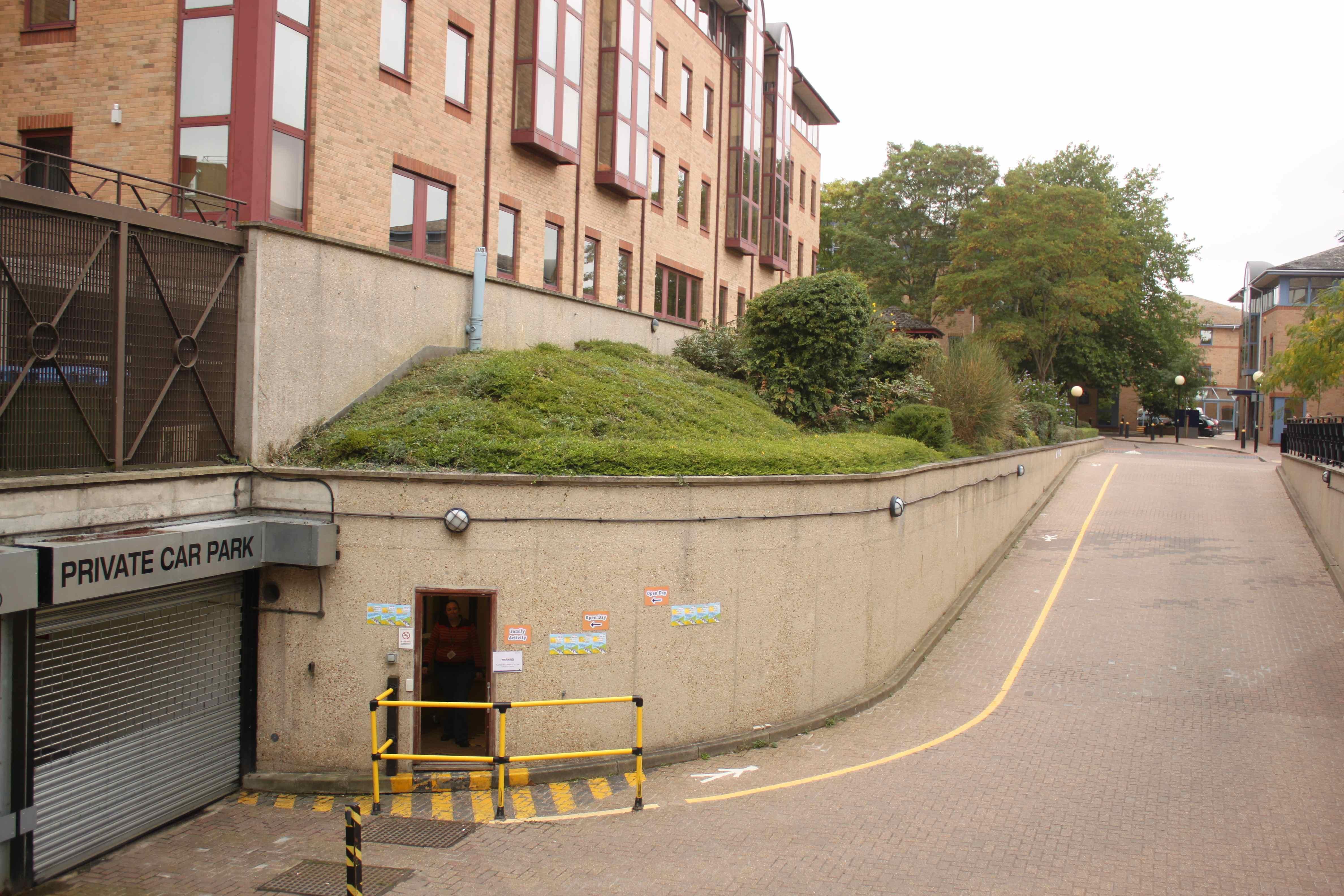 Castle Hill Car Park Cambridge