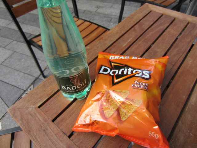 Badoit and Doritos