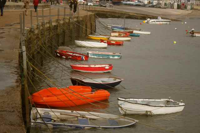boats at Lyme