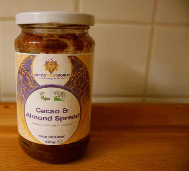 cacao and almond spread 1