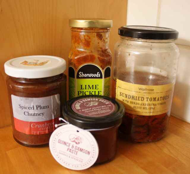 chutney and pickle