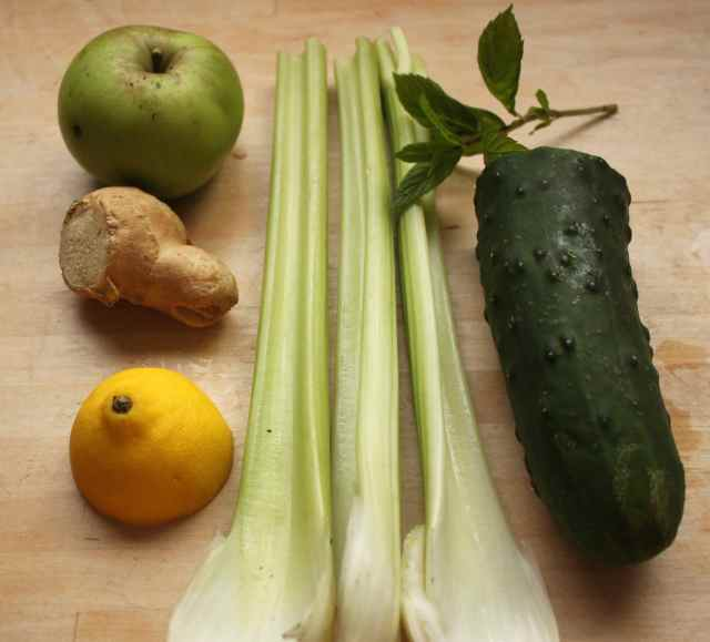 green juice ingredients 5-10-13